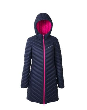 Down Coat Woman - Blue & Pink
