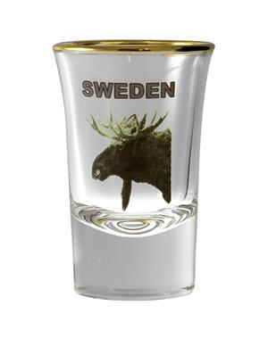 Shot Glass Moose Sweden