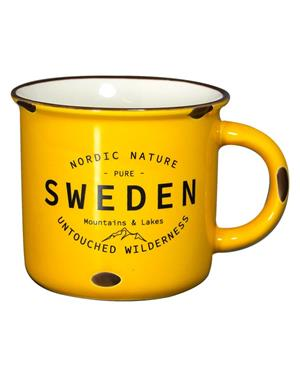 Yellow Sweden Mug