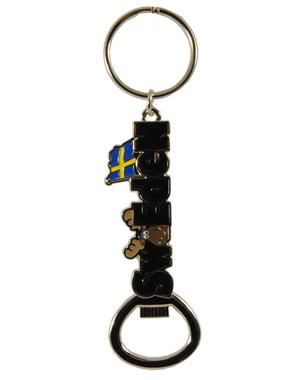 Keychain Bottle Opener Sweden