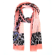 Scarf Rosa Leopard