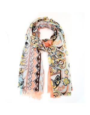 Scarf Pastell Blommor