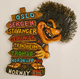 Fridge Magnet Troll With Sign Norway