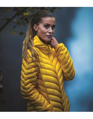 Down Jacket Woman - Yellow