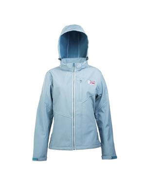 Light Green Softshell Jacket Woman - Sport Edition