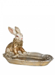 Rabbit With Platter